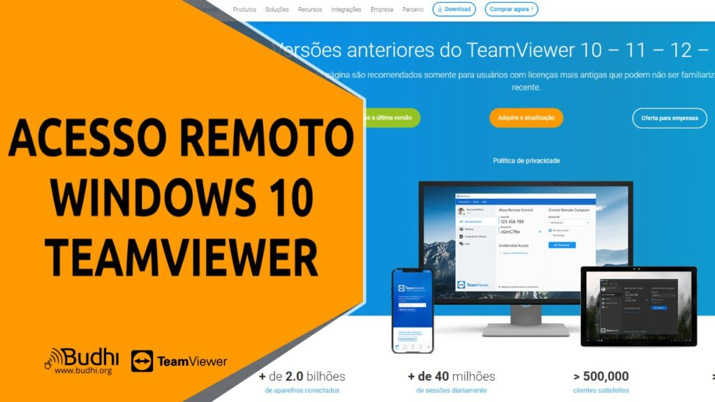 Aprenda a Usar o Acesso Remoto do Windows 10 com TeamViewer miniatura youtube